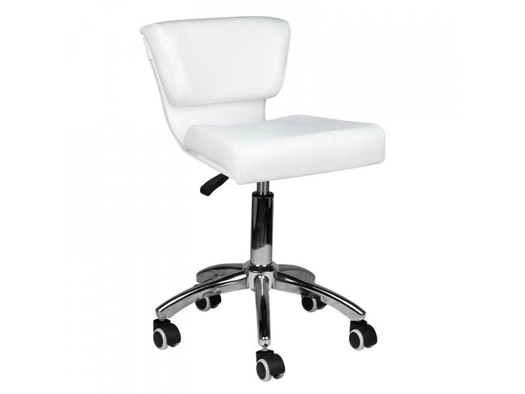 Kosmetická židle 227 bílá
