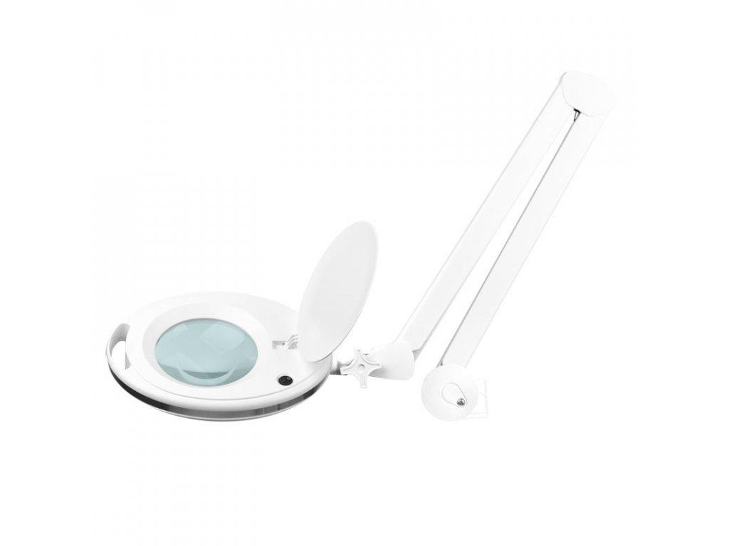 Stolní kosmetická lampa s lupou ELEGANTE 6027 60 LED SMD 5D