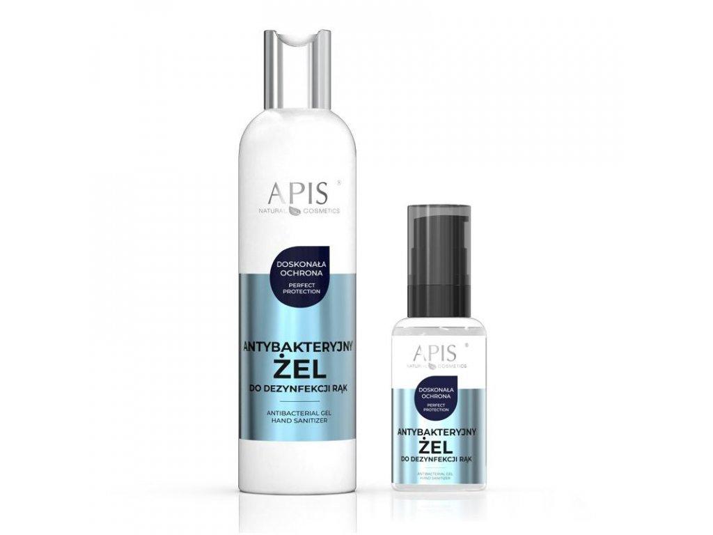 APIS Antibakteriální dezinfekční prostředek na ruce 300 ml + 50 ml ZDARMA