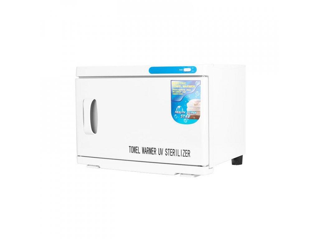 Ohřívač ručníků s UV-C sterilizátorem 16 l - bílý