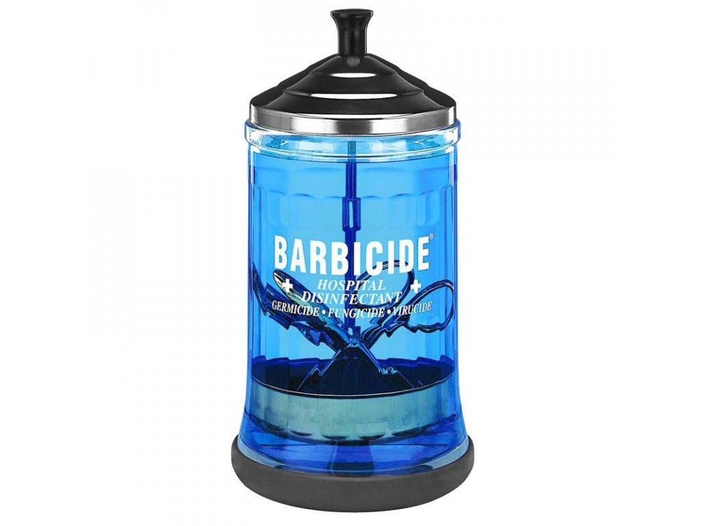 BARBICIDE Skleněná nádoba na dezinfekci 750 ml