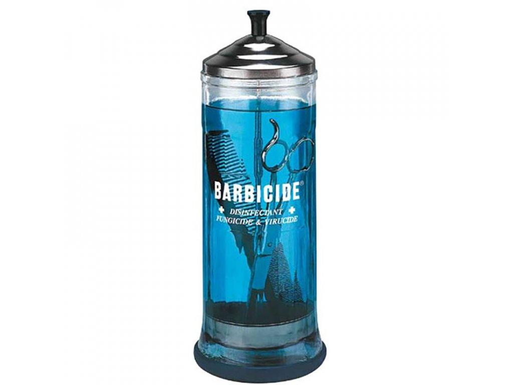 BARBICIDE Skleněná nádoba na dezinfekci 1100 ml
