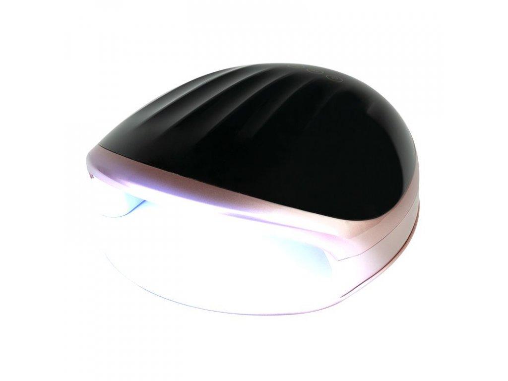 LED UV LAMPA S5 48W ČERNÁ - RŮŽOVÁ