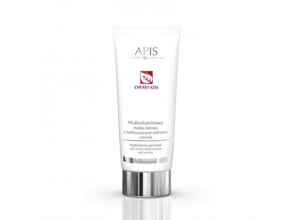 APIS multivitamínová gelová maska s lyofilizovanou třešní a acerolou 200ML