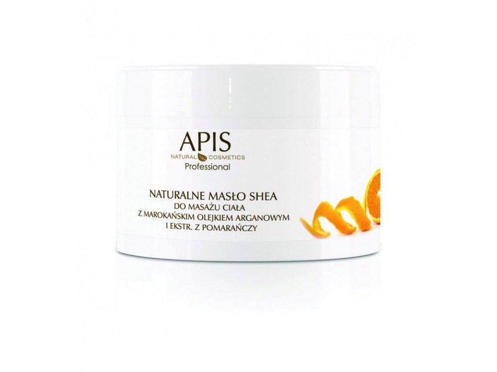 APIS Přírodní bambucké máslo s arganovým olejem pro masáž těla 200g