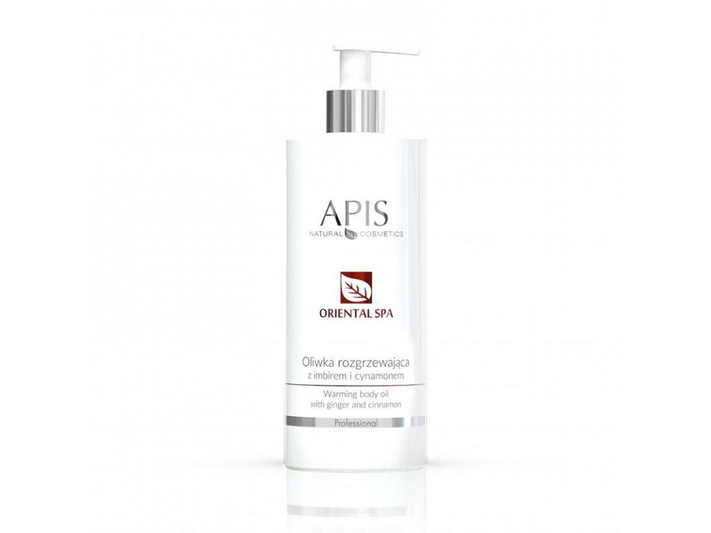 APIS Oriental SPA Hřejivý olej se zázvorem a skořicí 500ml