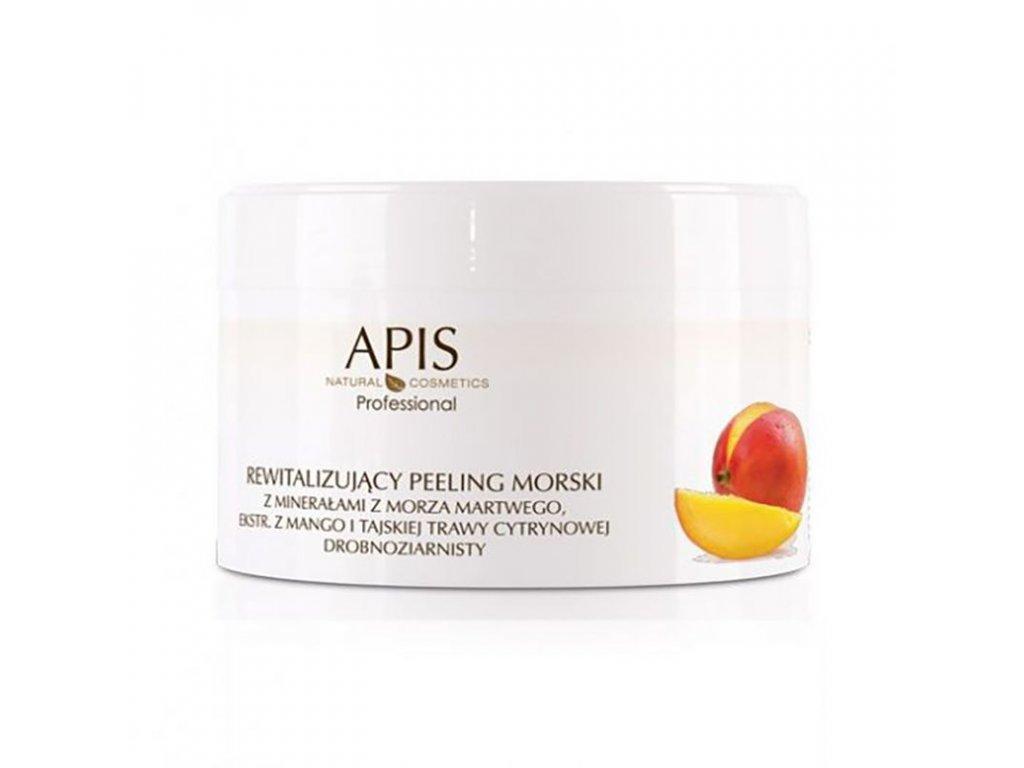 APIS Revitalizační peeling s extra. s mangem a citronovou trávou 300g