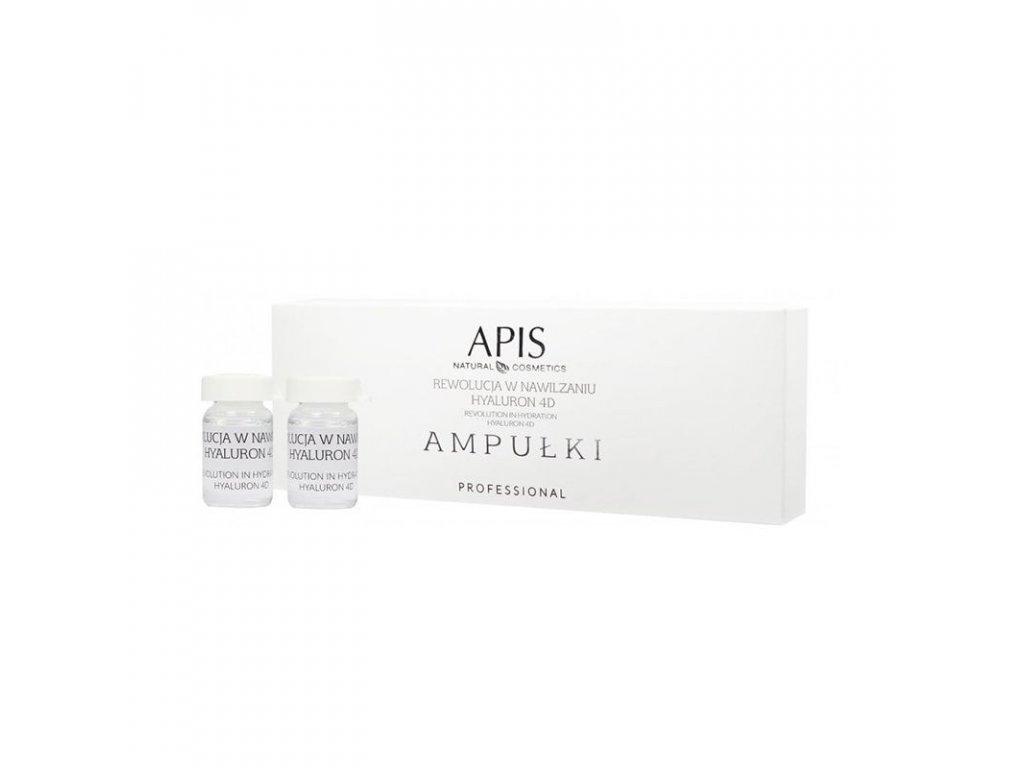APIS AMPULKY Revolution in Moisturizing Hyaluron 4D 5x5ml