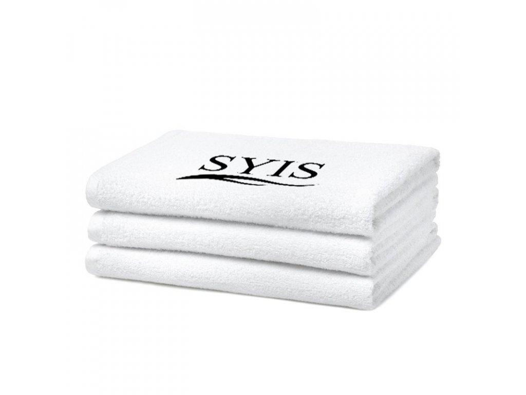 Froté ručník SYIS 50x90cm Bílý