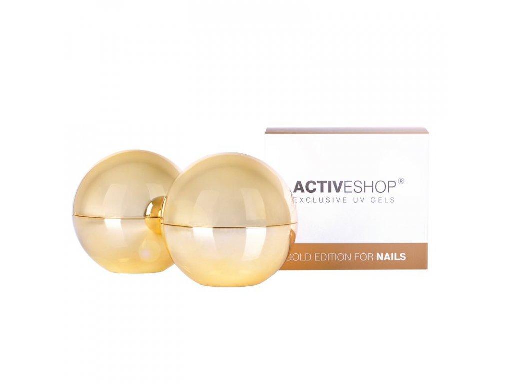 UV Clear Gel 30g modelovací ACTIVE