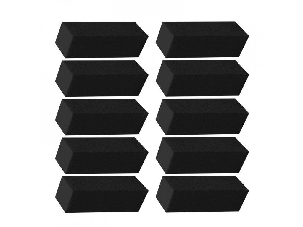 Brusný blok černý 10ks