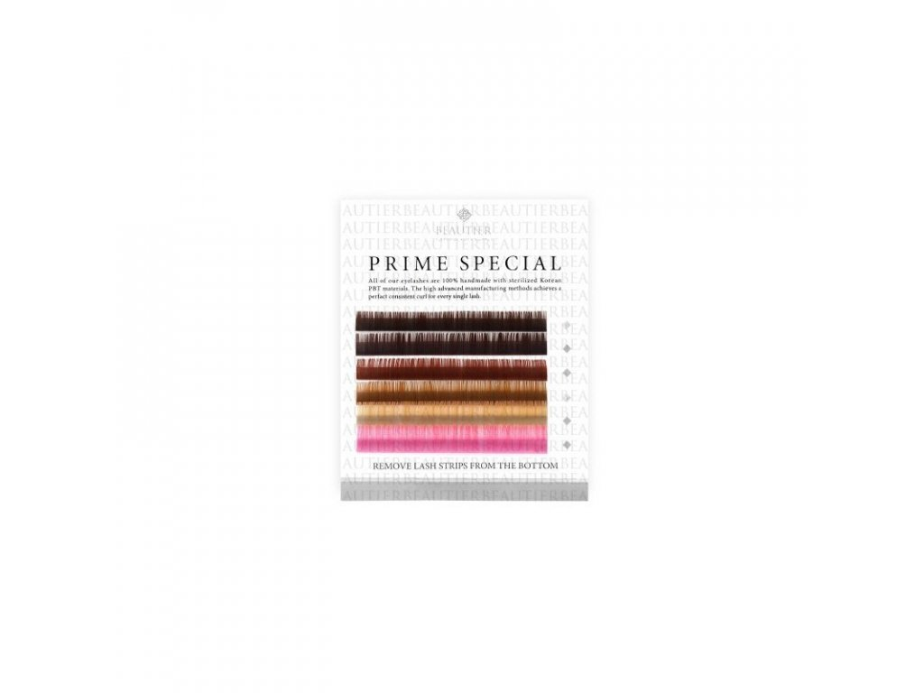 Beautier barevné pastelové řasy C 0,15 11mm