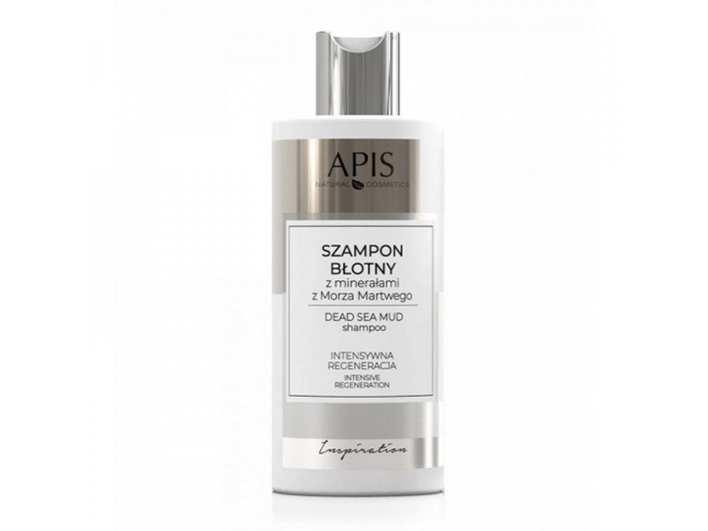 APIS INSPIRACE šampón z bahna s mořskými minerály z mrtvého moře 300 ml