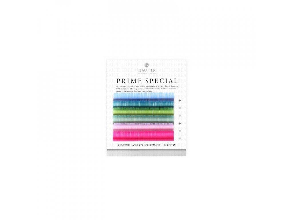 Beautier barevné pastelové řasy C 0,20x 13mm