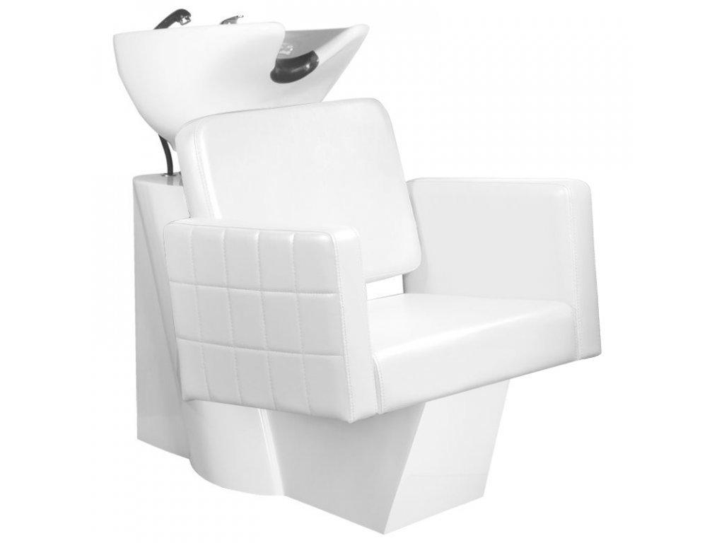 GABBIANO kadeřnický mycí box ANKARA Bílá BB