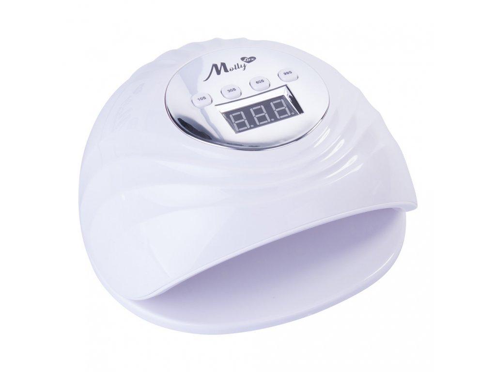 Mollylux UV/LED lampa 86W Holo Infinity bílá