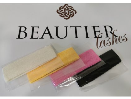 Beautier Froté kosmetická čelenka - bílá