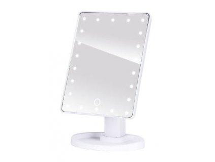 LED zrcadlo bílé