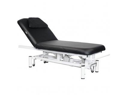 Elektrické masážní lehátko černé, AZZURO 684
