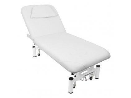 Elektrické masážní lehátko - bílé, AZZURO 684