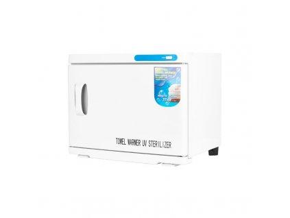 Ohřívač ručníků s UV-C sterilizátorem 23 l - bílý
