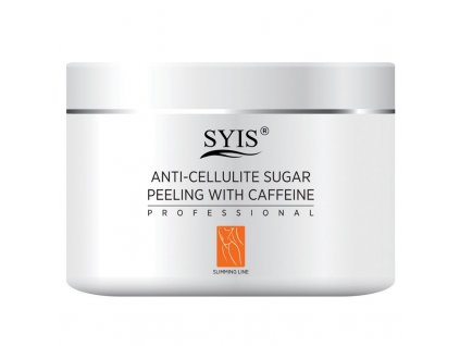 SYIS Anticelulitidní cukrový peeling s kofeinem 500g