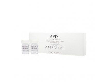 APIS AMPULKY Revolution in Moisturizing Hyaluron 4D 5x5ml
