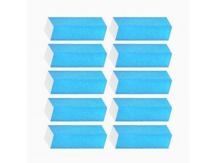 Brusný blok modrý 10ks