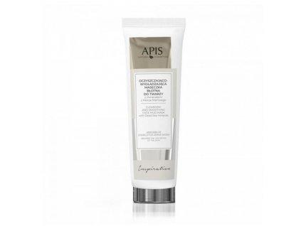 APIS INSPIRACE bahenní čistící maska na obličej s minerály Z Mrtvého moře 100ML