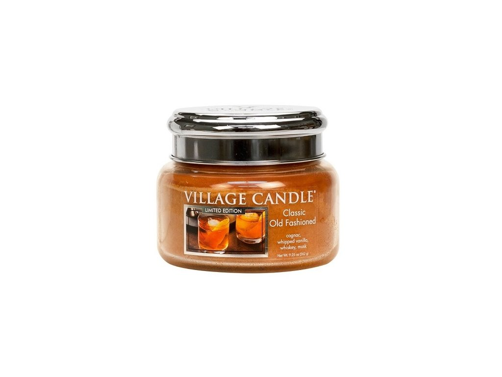 48124 13634 village candle vonna svicka ve skle classic old fashioned 11oz