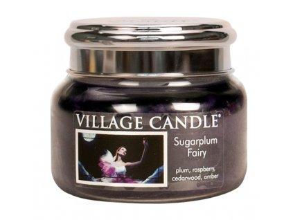 45579 11696 village candle vonna svicka ve skle pulnocni vila sugarplum fairy 11oz