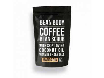 42668 7893 bean body coffeescrub mandarinka 220 g