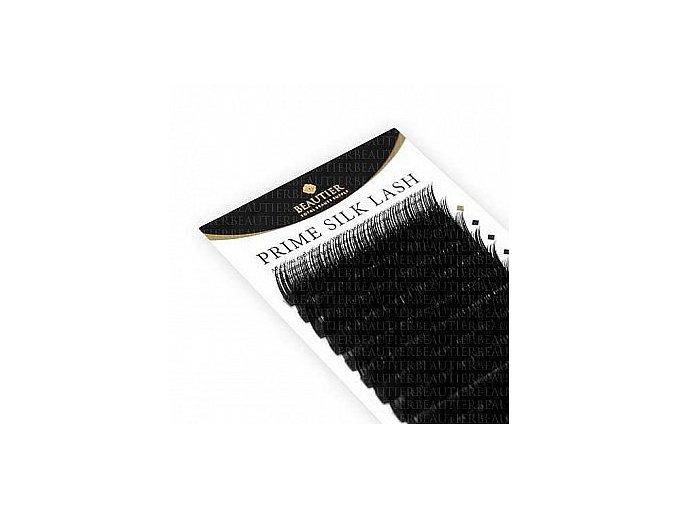 HEDVÁBNÉ UMĚLÉ ŘASY zakřivení B 0,20 větší balení - 16 řad (Odstín 17 mm)