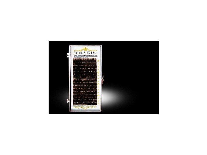 Tmavě hnedé řasy B / 0,2- pro přirozený efekt (Délka 13 mm)