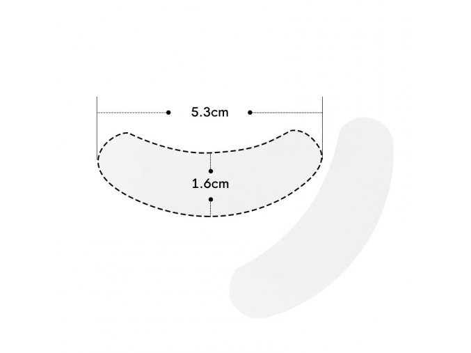 mini eye patch beautier 2 paar