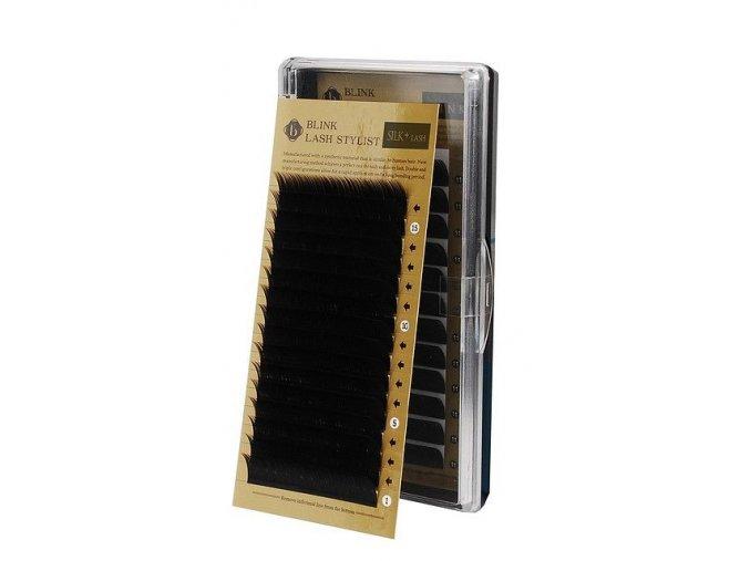 BLINK hedvábné řasy J 0,1 (Odstín 13 mm)