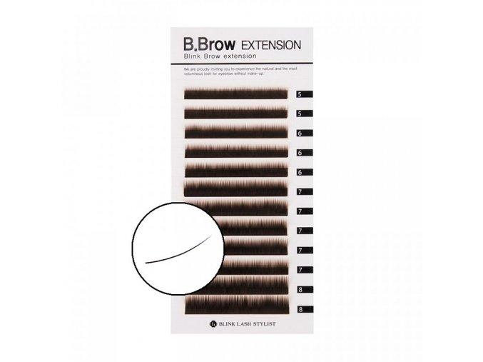 brow lash 01 hnede