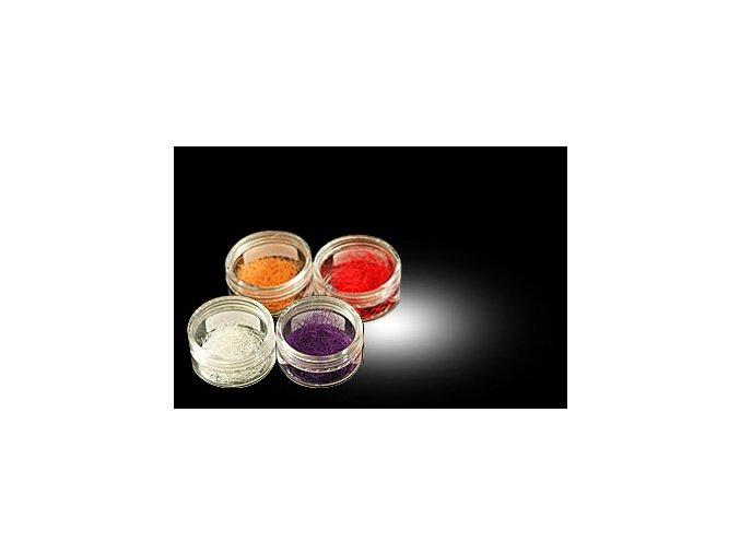 SLEVA 50% Barevné řasy v kalíšku zakřivení B 0.2 x 11 mm (Délka tmavě hnědá)