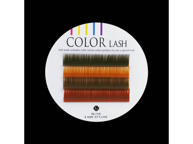 color lash rasy oboci