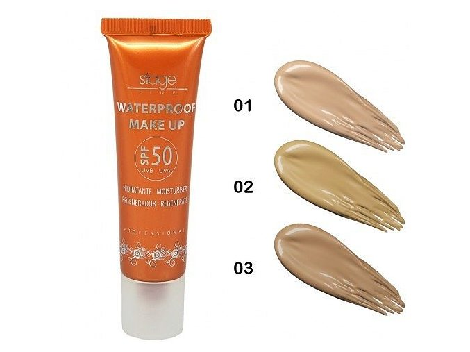 Waterproof make-up SPF50 (Odstín 02)