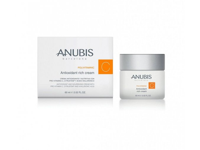 POLIVITAMINIC Antioxidant Rich Cream 60 ml (Odstín TESTER POLIVITAMINIC Antioxidant Rich Cream 2 ml)