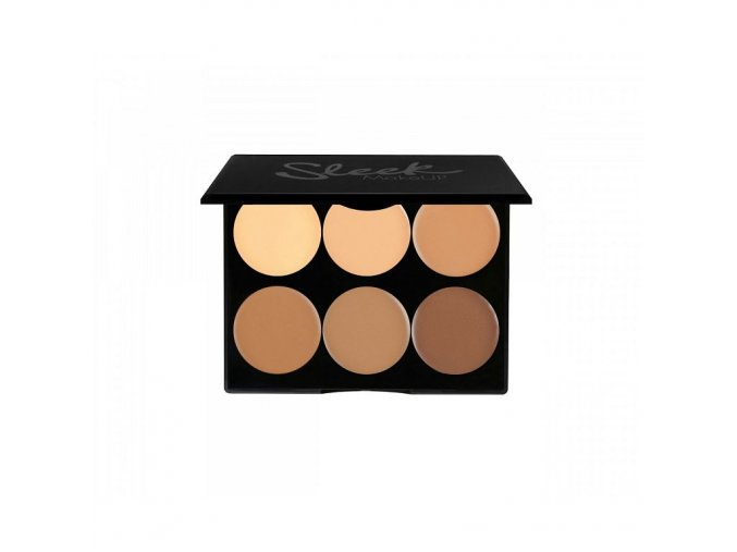 sleek packshot cream contour kit medium