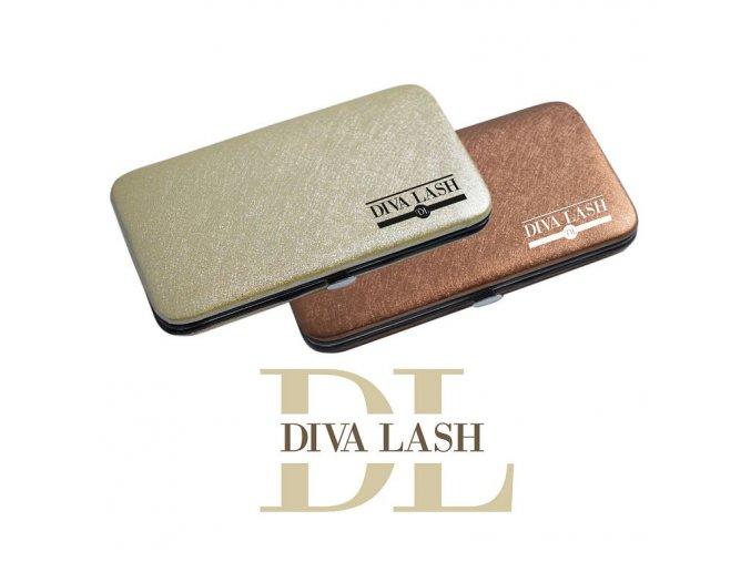 Magnetické pouzdro na pinzety DIVA LASHES (Odstín Bronzové)