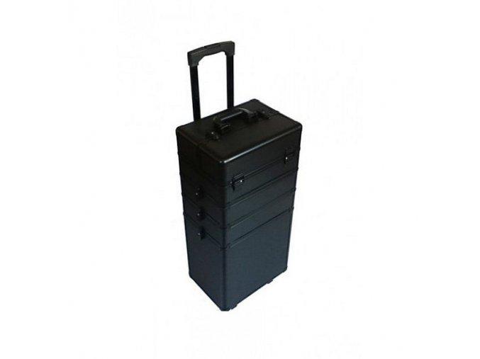 nani ctyrdilny kosmeticky kufrik tc004 na koleckach black strip w640