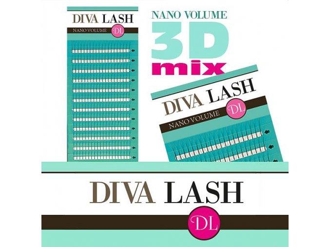 diva nano volume 3d mix