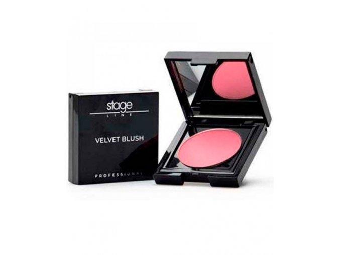 Stage Line Velvet Blush Plus Colorete 01 Candy Pink