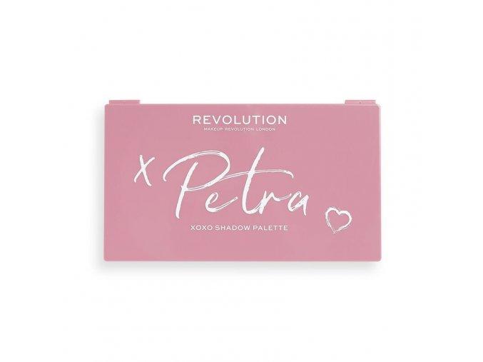 Revolution Petra XOXO paleta očních stínů