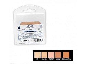 náhradní náplň pro palety MAKE-UP PALETA 2 in 1 (Odstín SUNNY)