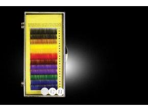 20% SLEVA BAREVNÉ ŘASY SADA 9 barev B 0.2 12 řad (Odstín 13 mm)