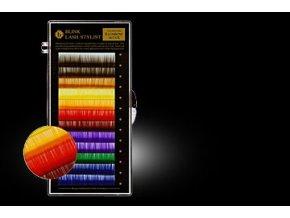 BAREVNÉ ŘASY SADA 9 barev C 0.2 (Délka 13 mm)